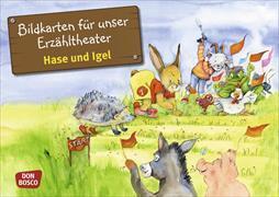 Cover-Bild zu Hase und Igel von Lefin, Petra (Illustr.)