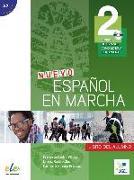 Cover-Bild zu Nuevo Español en marcha 2. Kursbuch mit Audio-CD von Castro Viúdez, Francisca