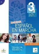 Cover-Bild zu Nuevo Español en marcha 3. Kursbuch mit Audio-CD von Castro Viúdez, Francisca