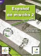 Cover-Bild zu Español en marcha 02. Arbeitsbuch mit Audio-CD von Castro Viúdez, Francisca