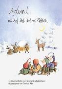 Cover-Bild zu Am Weihnachtsmarkt mit Zipf, Zapf, Zepf und Zipfelwitz von Räss, Daniela (Illustr.)