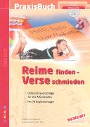 Cover-Bild zu Reime finden - Verse schmieden mit CD-ROM von Leimgruber, Elisabeth