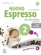 Cover-Bild zu Nuovo Espresso 2 - einsprachige Ausgabe. Buch mit Code von Balì, Maria