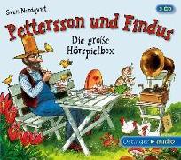 Cover-Bild zu Pettersson und Findus - Die große Hörspielbox (3 CD) von Nordqvist, Sven