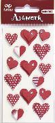 Cover-Bild zu Art-Work: Herzen rot/weiss