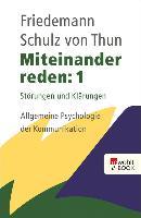 Cover-Bild zu Miteinander reden 1 (eBook) von Schulz von Thun, Friedemann
