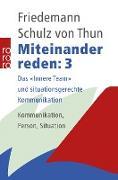 Cover-Bild zu Miteinander reden 3 (eBook) von Schulz von Thun, Friedemann