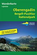 Cover-Bild zu Oberengadin Bergell - Puschlav - Nationalpark. Wanderkarte 1:50'000