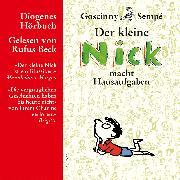 Cover-Bild zu Der kleine Nick macht Hausaufgaben (Audio Download) von Goscinny, René