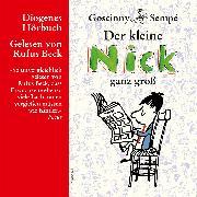 Cover-Bild zu Der kleine Nick ganz groß (Audio Download) von Goscinny, René
