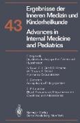 Cover-Bild zu Advances in Internal Medicine and Pediatrics/Ergebnisse der Inneren Medizin und Kinderheilkunde von Frick, P.