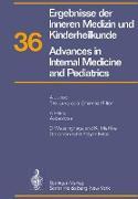 Cover-Bild zu Ergebnisse der Inneren Medizin und Kinderheilkunde / Advances in Internal Medicine and Pediatrics von Frick, P.
