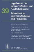 Cover-Bild zu Ergebnisse der Inneren Medizin und Kinderheilkunde/Advances in Internal Medicine and Pediatrics von Frick, P.
