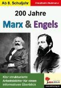 Cover-Bild zu 200 Jahre Marx & Engels (eBook) von Heitmann, Friedhelm