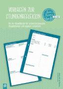 """Cover-Bild zu Vorlagen zur Stundenreflexion """"live - love - teach"""""""