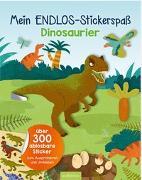 Cover-Bild zu Mein Endlos-Stickerspaß Dinosaurier von Sommer, Eleanor (Illustr.)