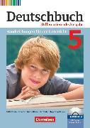 Cover-Bild zu Deutschbuch, Sprach- und Lesebuch, Zu allen differenzierenden Ausgaben 2011, 5. Schuljahr, Handreichungen für den Unterricht, Kopiervorlagen und CD-ROM von Bohlinger, Janine