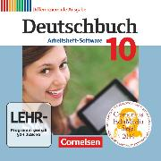 Cover-Bild zu Deutschbuch, Sprach- und Lesebuch, Zu allen differenzierenden Ausgaben 2011, 10. Schuljahr, Übungs-CD-ROM zum Arbeitsheft