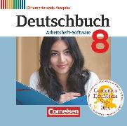 Cover-Bild zu Deutschbuch, Sprach- und Lesebuch, Zu allen differenzierenden Ausgaben 2011, 8. Schuljahr, Übungs-CD-ROM zum Arbeitsheft