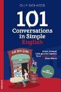 Cover-Bild zu 101 Conversations in Simple English (eBook) von Richards, Olly