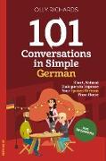 Cover-Bild zu 101 Conversations in Simple German (eBook) von Richards, Olly