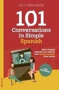 Cover-Bild zu 101 Conversations in Simple Spanish (eBook) von Richards, Olly