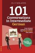 Cover-Bild zu 101 Conversations in Intermediate German (eBook) von Richards, Olly