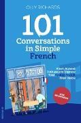 Cover-Bild zu 101 Conversations in Simple French (eBook) von Richards, Olly