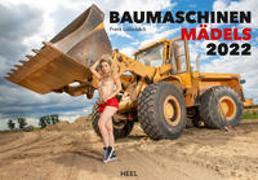 Cover-Bild zu Baumaschinen Mädels 2022 von Lutzebäck, Frank (Fotograf)