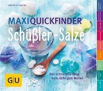 Cover-Bild zu Maxi-Quickfinder Schüßler-Salze (eBook) von Heepen, Günther H.