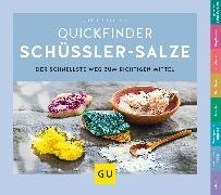 Cover-Bild zu Schüßler-Salze, Quickfinder (eBook) von Heepen, Günther H.