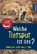 Cover-Bild zu Welche Tierspur ist das? Kindernaturführer (eBook) von Saan, Anita van