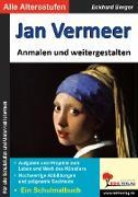 Cover-Bild zu Jan Vermeer ... anmalen und weitergestalten (eBook) von Berger, Eckhard