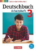 Cover-Bild zu Deutschbuch Gymnasium, Baden-Württemberg - Bildungsplan 2016, Band 3: 7. Schuljahr, Arbeitsheft mit Lösungen von Fingerhut, Margret
