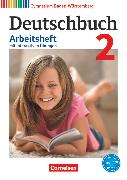 Cover-Bild zu Deutschbuch Gymnasium, Baden-Württemberg - Bildungsplan 2016, Band 2: 6. Schuljahr, Arbeitsheft mit interaktiven Übungen auf scook.de, Mit Lösungen von Fingerhut, Armin