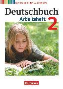 Cover-Bild zu Deutschbuch Gymnasium, Baden-Württemberg - Ausgabe 2012, Band 2: 6. Schuljahr, Arbeitsheft mit Lösungen von Fingerhut, Armin