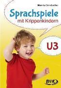 Cover-Bild zu Sprachspiele mit Krippenkindern von Brombacher, Mareike