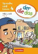 Cover-Bild zu der-die-das, Deutsch-Lehrwerk für Grundschulkinder mit erhöhtem Sprachförderbedarf, Sprache und Lesen, 4. Schuljahr, Arbeitsheft Sprache, Teil A und B im Paket