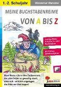 Cover-Bild zu Meine Buchstabenreime von A bis Z von Mandzel, Waldemar