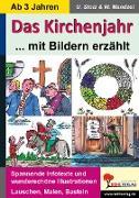 Cover-Bild zu Das Kirchenjahr mit Bildern erzählt (eBook) von Mandzel, Waldemar