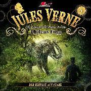 Cover-Bild zu Jules Verne, Die neuen Abenteuer des Phileas Fogg, Folge 4: Der Elefant aus Stahl (Audio Download) von Topf, Markus