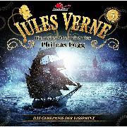 Cover-Bild zu Jules Verne, Die neuen Abenteuer des Phileas Fogg, Folge 5: Das Geheimnis der Eissphinx (Audio Download) von Topf, Markus