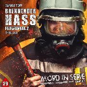Cover-Bild zu Mord in Serie, Folge 29: Brennender Hass - Feuerengel 2 (Audio Download) von Topf, Markus