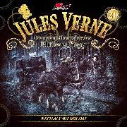 Cover-Bild zu Jules Verne, Die neuen Abenteuer des Phileas Fogg, Folge 20: Wettlauf mit der Zeit (Audio Download) von Topf, Markus