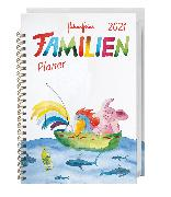 Cover-Bild zu Helme Heine Familienplaner Buch A5 Kalender 2021