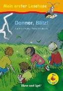 Cover-Bild zu Donner, Blitz! / Silbenhilfe von Friedeberg, Fides
