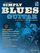Cover-Bild zu Simply Blues Guitar von Göres, Achim