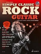 Cover-Bild zu Simply Classic Rock Guitar von Göres, Achim