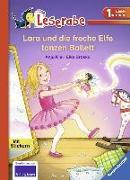 Cover-Bild zu Lara und die freche Elfe tanzen Ballett von Kiel, Anja