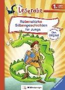 Cover-Bild zu Rabenstarke Silbengeschichten für Jungs von Reider, Katja